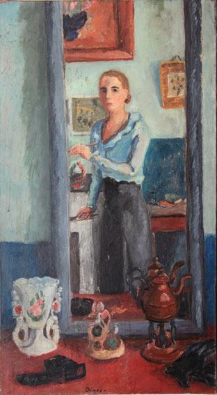 Autoportraits for Autoportrait miroir