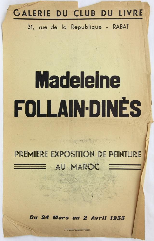 Galerie du club du livre Maroc 1955