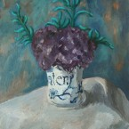 Violettes au vase Pater © ADIN